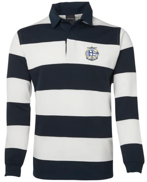 Claremont Yacht Club rugby jersey regalia