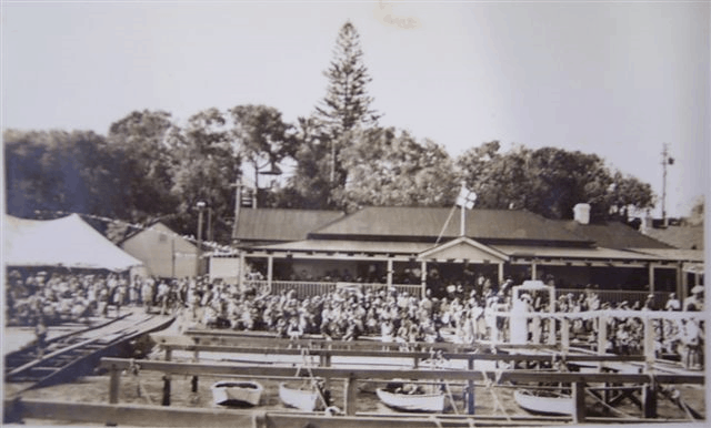 The first Claremont Yacht Club open day