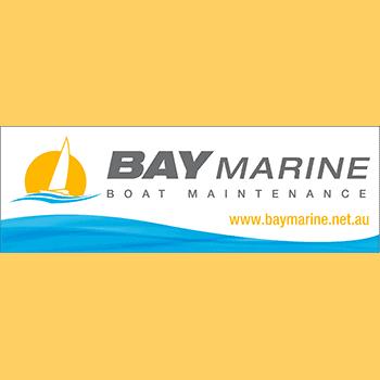 Bay Marine Boat Maintenance Logo